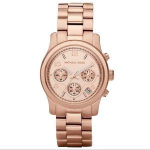 Michael Kors Runway Rose Gold Watch